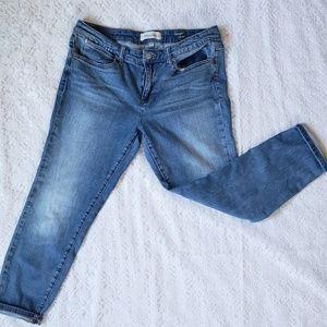 Henry& Belle Indie cropped skinny jeans